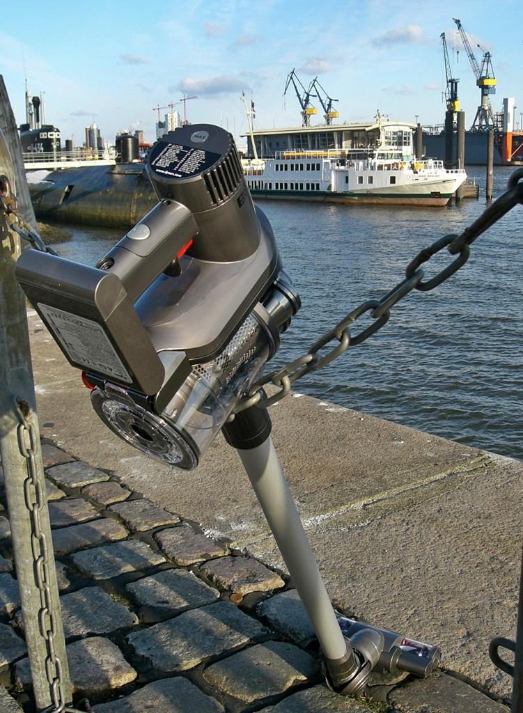 dc45 kabelloser Staubsauger, leicht, platzsparend, ideal für das Wohnmobil oder auf dem Boot